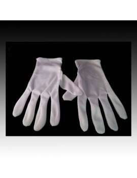 Magicians White Gloves