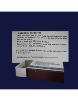 Matchbox Predictor