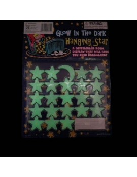 Glow-In-The-Dark Hanging Stars