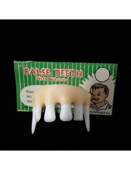 False Teeth With Whistle