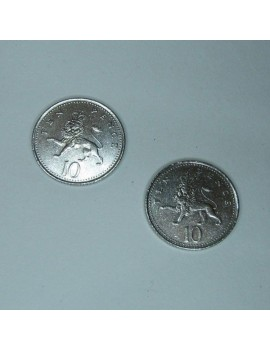 Double Sided 10p (tails)