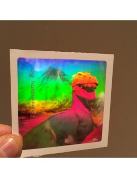 Dinosaur Hologram Sticker