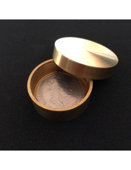 Brass Okito Coin Box