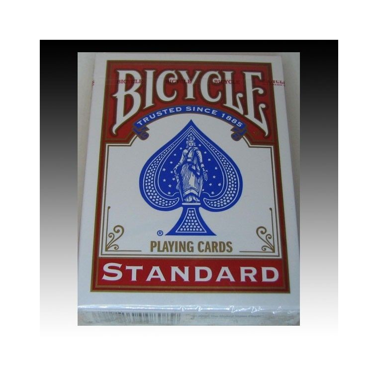 Bicycle Standard Size Poker Deck - Red Back