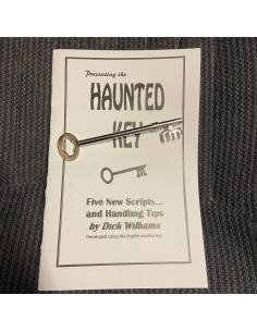 Haunted Key and Booklet